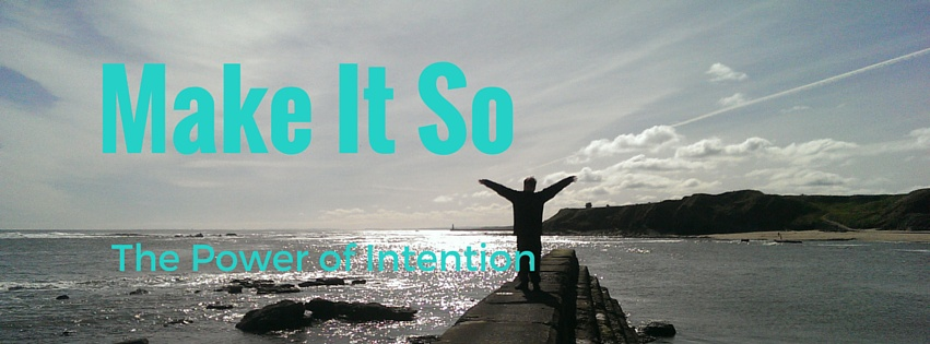 Set your intention - Take command  of your Space Ship