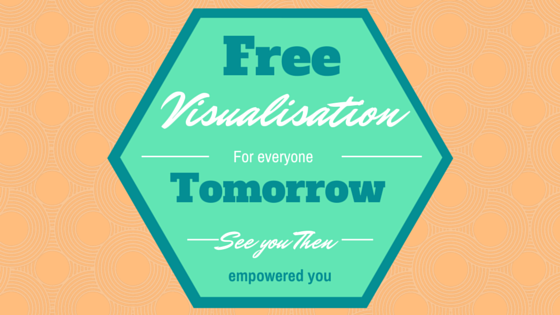 Come back tomorrow for a free visualisation recording.