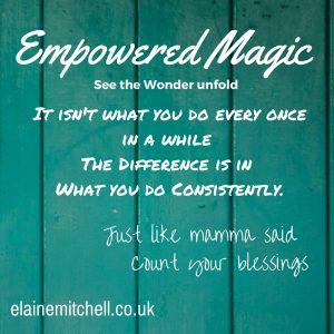 The secret of empowerment is gratitude