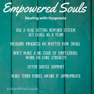 Mental Health Week Dealing with Dyspraxia