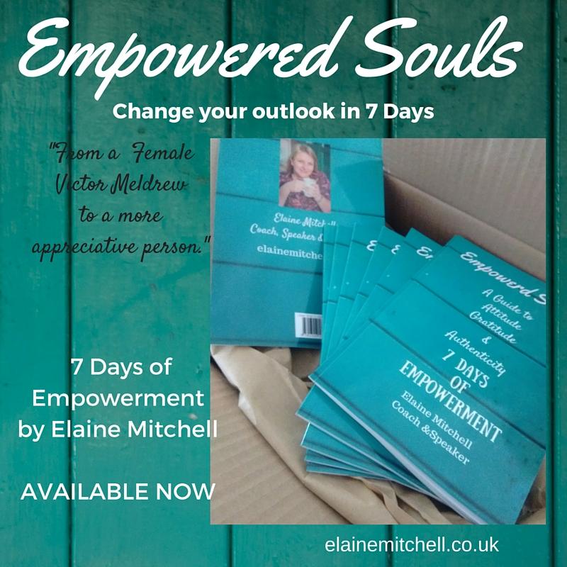 Elaine Mitchell 7 days of Empowerment