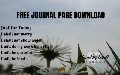 Free Download Journal Page