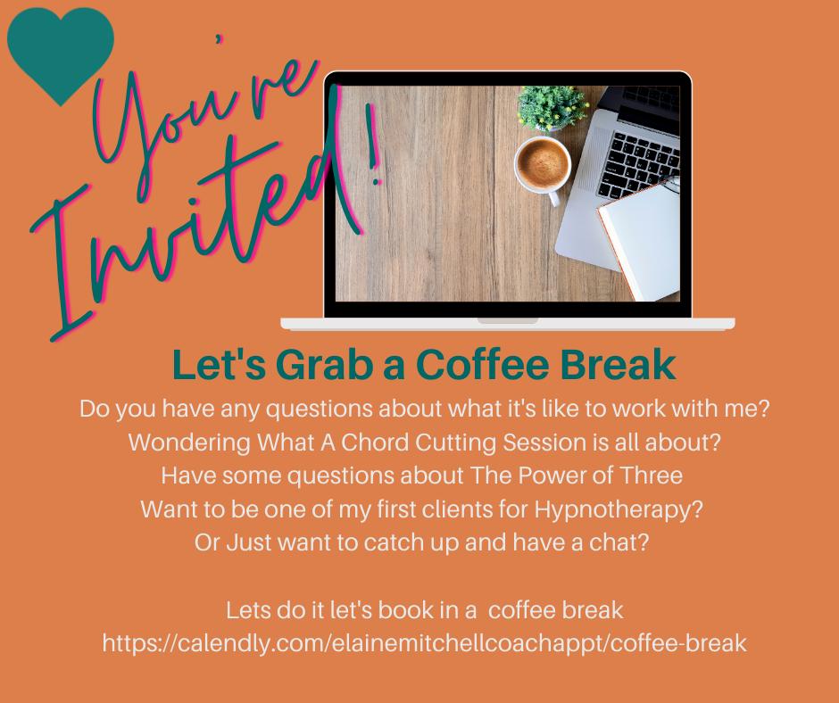 Invitation for a coffee break chat